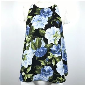AMERICAN APPAREL floral printed tank top blouse